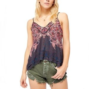 HP🎉 Free People Copper Abstract Way You Walk Cami